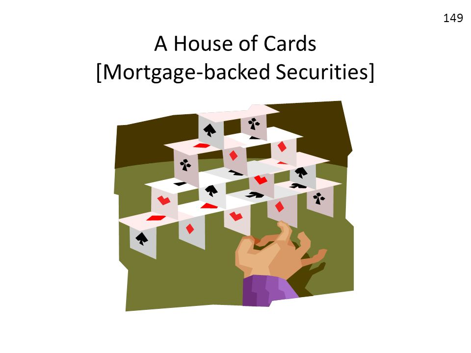 A House of Cards [Mortgage-backed Securities]